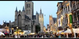 Gent gekozen voor het pilootproject 'warme steden'. (Foto©Stad Gent)
